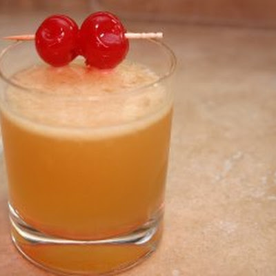 Bourbon Sour Cocktail