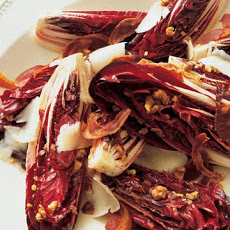 Treviso Radicchio Salad with Walnut Vinaigrette