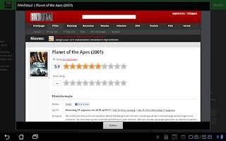 Screenshot of FilmpieHD
