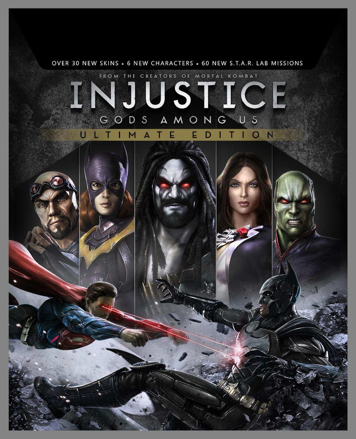Injustice: Gods Among Us Ultimate Edition announced for PS4 not Xbox One