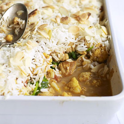 Chicken Biryani Bake