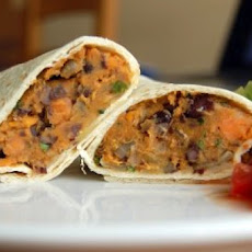 Healthy Vegetarian Burritos