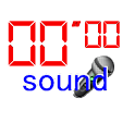 stopwatch sound icon
