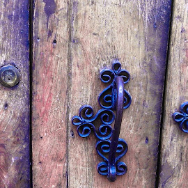 by Lisa Frisby - Novices Only Objects & Still Life ( doors, wooden, doorway, wood, still life, door photography, still life photography, door, rustic, objects, handles, door handles )