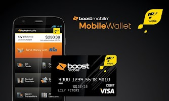 Screenshot of Boost Mobile Wallet