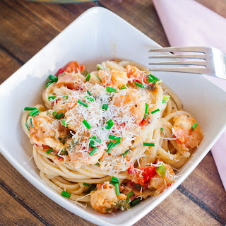 Jo's Shrimp Scampi with Bacon