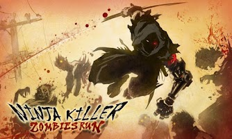 Screenshot of Ninja Killer: Zombies Run