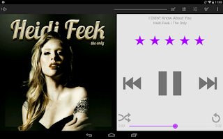Screenshot of Light Purple Theme