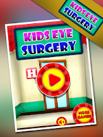 Screenshot of Kids Eye Surgery - Dr Fun Game