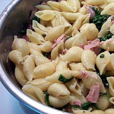 Tuna Spinach Pasta