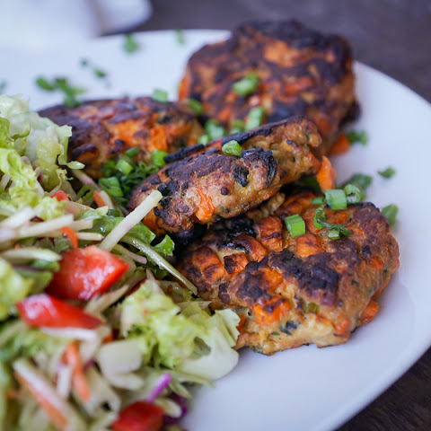 Sweet Potato-Apple Chicken Sausage Patties