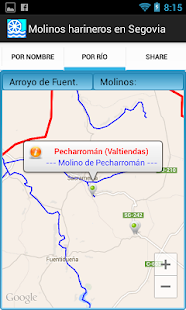 Molinos harineros en Segovia - screenshot