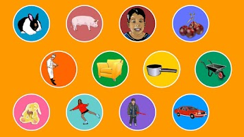 Screenshot of Preschool English ClickIn