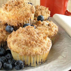 Blueberry Bakery Muffins