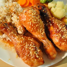 Sticky Chicken Drumsticks (Curtis Stone)