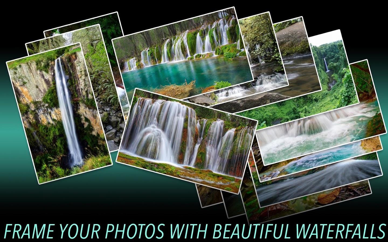Wasserfall Fotorahmen android apps download