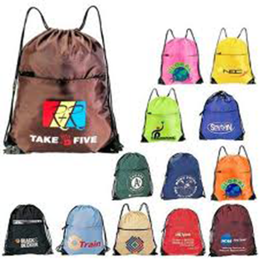 drawstring backpacks and bags LOGO-APP點子
