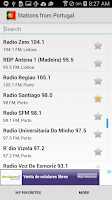 Screenshot of Radio Portugal