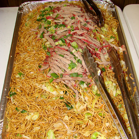 Oven Baked Chow Mein Noodles