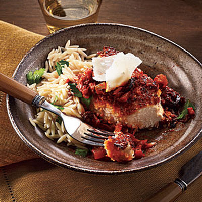 Crisp Chicken Marinara