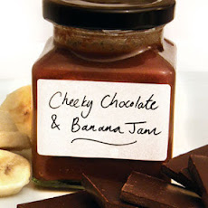 Cheeky Chocolate And Banana Jam