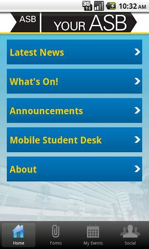 【免費教育App】'Your ASB' at UNSW-APP點子