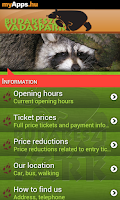 Screenshot of Budakeszi Wildlife Park