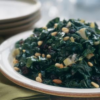 Swiss Chard With Raisins And Pine Nuts Recipes