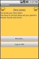Screenshot of Desi Jokes