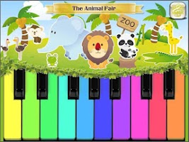 Screenshot of Kids Piano Games FREE