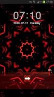 Screenshot of GO Locker Theme Red Black