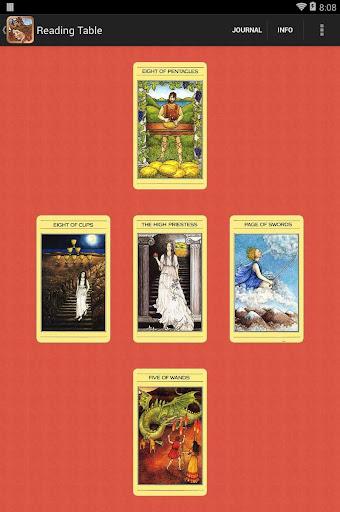 Mythic Tarot - screenshot