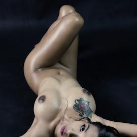 Sexy  by Bunga Bedugul - Nudes & Boudoir Boudoir ( studio, model, nude, beautiful, artistic, beauty )