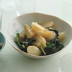 Japanese Turnips with Miso