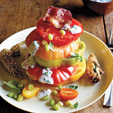 Hot and Hot Tomato Salad