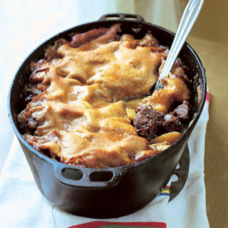 Meat and Pastry Casserole