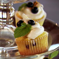 Missy's Lemon and Blueberry Cupcakes
