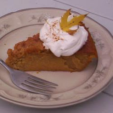 No Crust Pumpkin Pie
