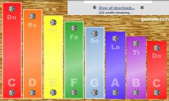 Screenshot of Kid's Xylophone Lite