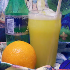 Orange Sunrise Fizz