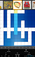 Screenshot of PICADO Kids Picture Crossword