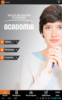 Screenshot of Acadomia