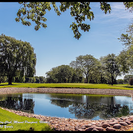 Water Hazard by Tony Roma - Sports & Fitness Golf ( golf course, illinois, green, hazard, hole )