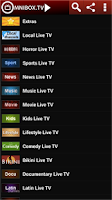 Screenshot of OmniBox TV