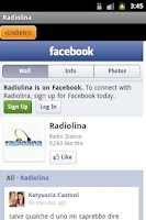 Screenshot of Radiolina