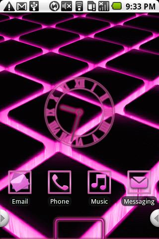 Glow Theme Pink HD