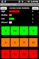 Screenshot of Scrum Poker Coach