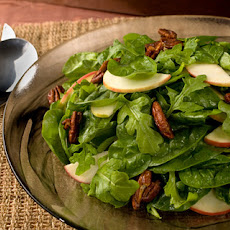 Spiced Pecan and Apple Salad with Honey Vinaigrette Recipe
