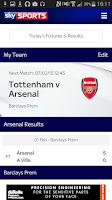 Screenshot of Sky Sports Live Football SC