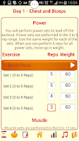 Screenshot of Ultimate Muscle &Strength Work